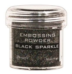 Ranger - Specialty 1 Embossing Powder - Black Sparkle